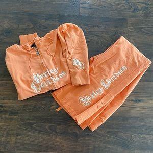Harley-Davidson Zip-up Hoodie and Matching Pants